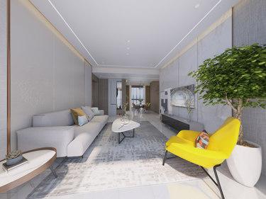 130平建业花园现代风格