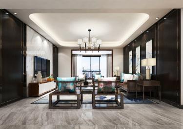 138平清华园新中式风格-简约大气
