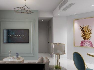 62平碧桂园现代风格-碧桂园小区62平米2室现代装修案例
