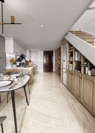 70平万达茂现代风格-精致生活,与你相遇,携手打造未来家-万达茂小区70平米1室现代装修案例