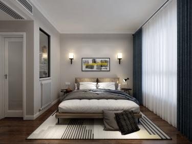 220平岳麓欧成北欧风格-时尚-岳麓欧城小区220平米5室北欧装修案例