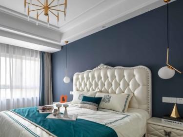 105平保利金香槟欧式风格-保利金香槟小区105平米3室欧式装修案例