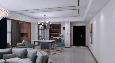 107平金榜家园现代风格-时尚精致演绎优雅品位