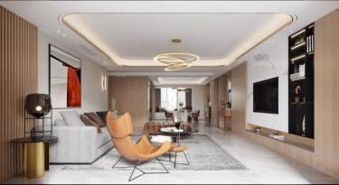 275平碧桂园现代风格-碧桂园小区275平米5室现代装修案例