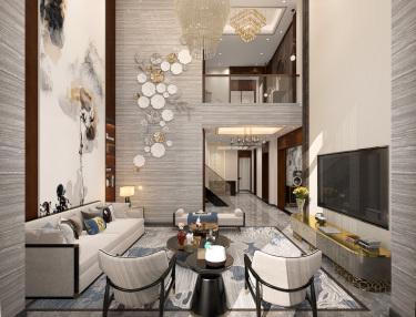 400平自建别墅新中式风格-生活·田间