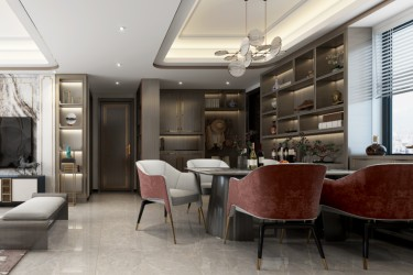 119平3室新中式餐厅