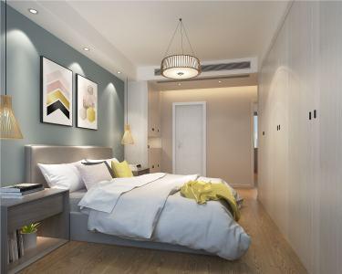 110平石湖湾现代风格-石湖湾小区110平米3室现代装修案例
