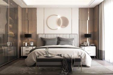 119平3室新中式卧室