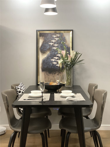 88平2室现代餐厅