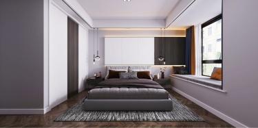 112平3室现代卧室