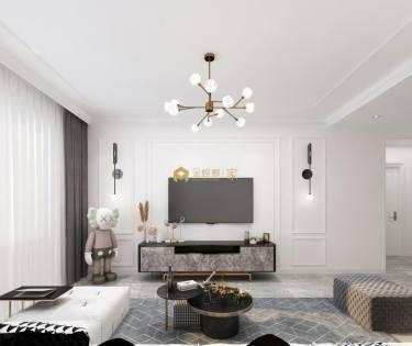 88平亚泰华府现代风格-迎接新生的小屋