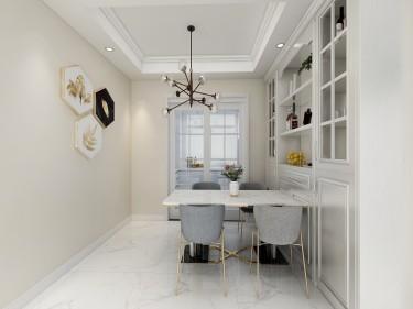 117平维多利亚三期现代风格-简易空间