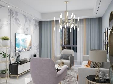 107平融创中心现代风格-宜室宜家