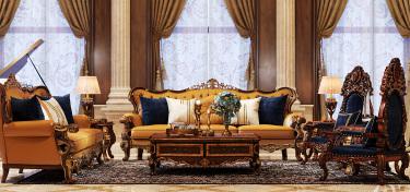 600平碧桂园钻石墅美式风格-高奢豪宅,纯正美式定制