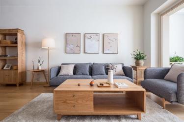 90平同祥城日式风格-清新自然-同祥城小区90平米2室日式装修案例
