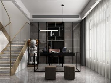 127平锦麟九里现代风格-跃层的纯粹的设计格调