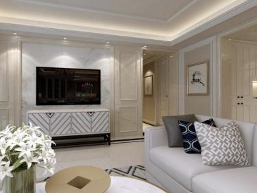 89平保利融侨时光印象欧式风格-新古典婚房案例