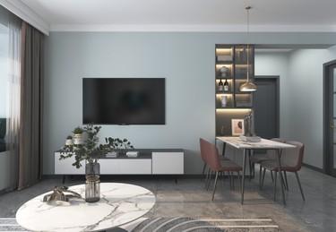118平3室现代客厅