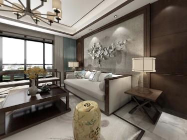 85平长泰国际新中式风格婚房