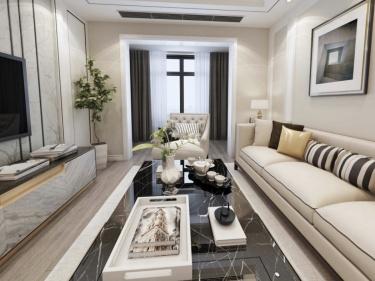 75平长泰国际简欧风格-婚房