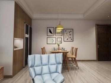 85平长泰国际北欧风格-婚房