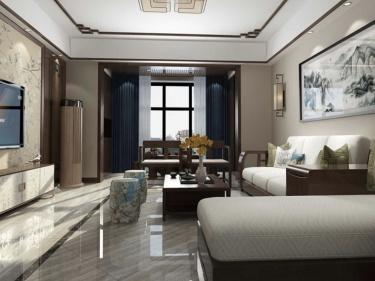 160平长泰国际新中式风格-婚房