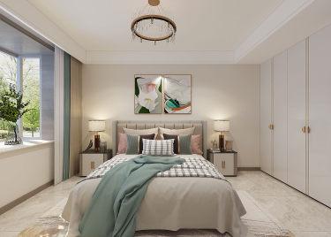 129平3室现代卧室