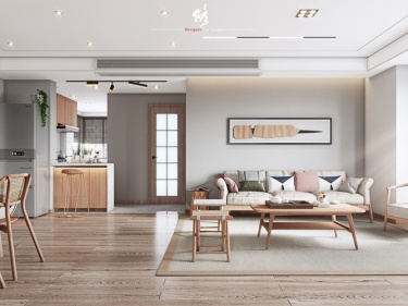 120平阳光公寓日式风格