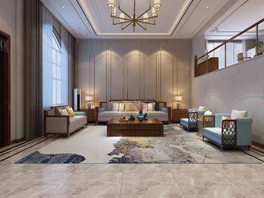 400平康力家园新中式风格
