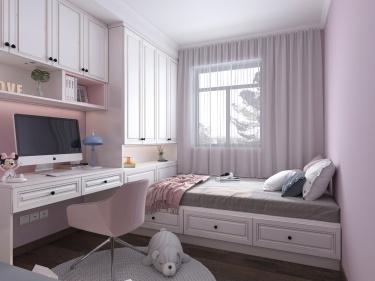 118平3室现代儿童房