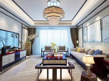 180平满堂院现代风格-姿意的港式生活