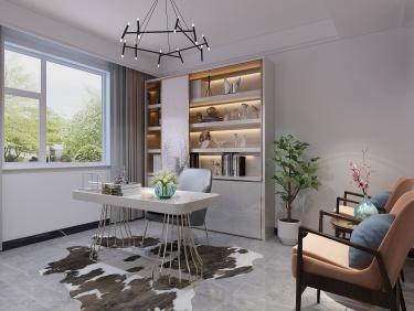350平艺馨公寓现代风格-一样的简约不一样的精致-艺馨公寓小区350平米别墅现代装修案例