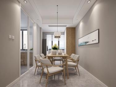 140平津西新天地现代风格-回归初心-津西新天地小区140平米4室现代装修案例