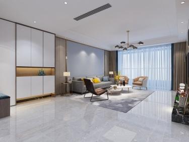 350平艺馨公寓现代风格-一样的简约不一样的精致