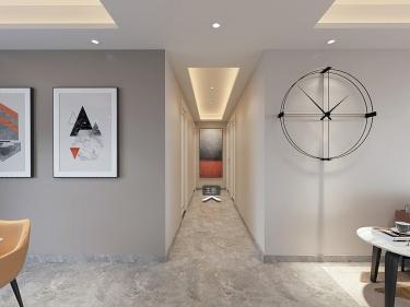 178平龙湖时代天街现代风格-返璞归真  雅致温暖的家-龙湖时代天街小区178平米3室现代装修案例