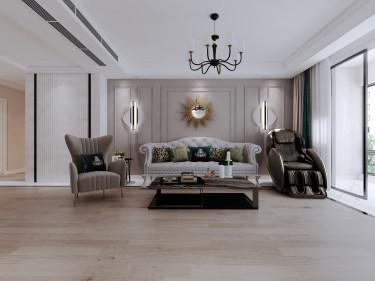 190平4室北欧客厅