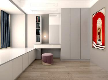 190平4室北欧书房
