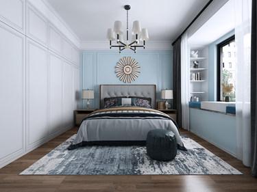 125平3室美式卧室
