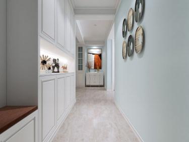 125平3室美式走廊