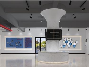160平四川南方开创实业有限公司现代风格-时尚的展厅