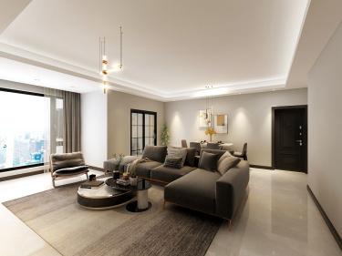 133平莲花坊欧式风格-温馨舒适的三口之家