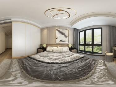 143平美的君兰江山现代风格