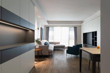 116平3室现代客厅
