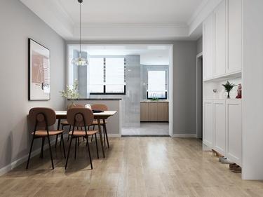 120平蓝谷地北欧风格-蓝谷地小区120平米3室北欧装修案例