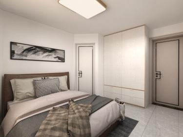 106平万豪伊顿现代风格-简单舒适-万豪伊顿小区106平米2室现代装修案例
