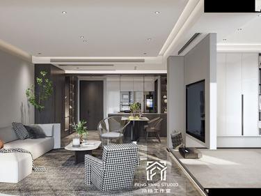 140平民生丽岛现代风格-简洁空间,禅意生活