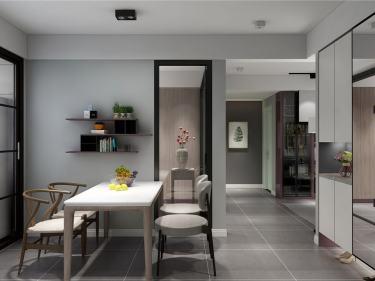 98平阿卡迪亚北欧风格-气韵之美-阿卡迪亚小区98平米3室北欧装修案例