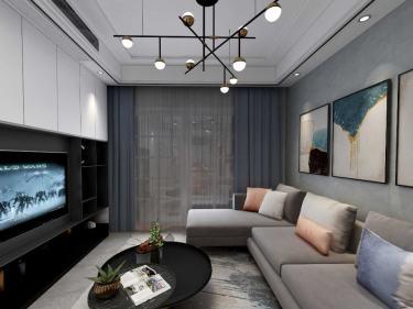112平南山楠现代风格-寻一处居心之所-南山楠小区112平米3室现代装修案例