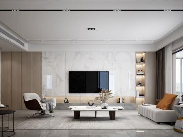 180平新湖明珠城现代风格-简·洁