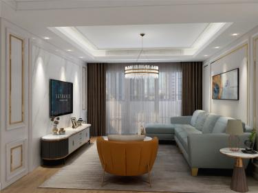 139平南丰花园美式风格-『门里边,是有故事的家』-南丰花园小区139平米4室美式装修案例
